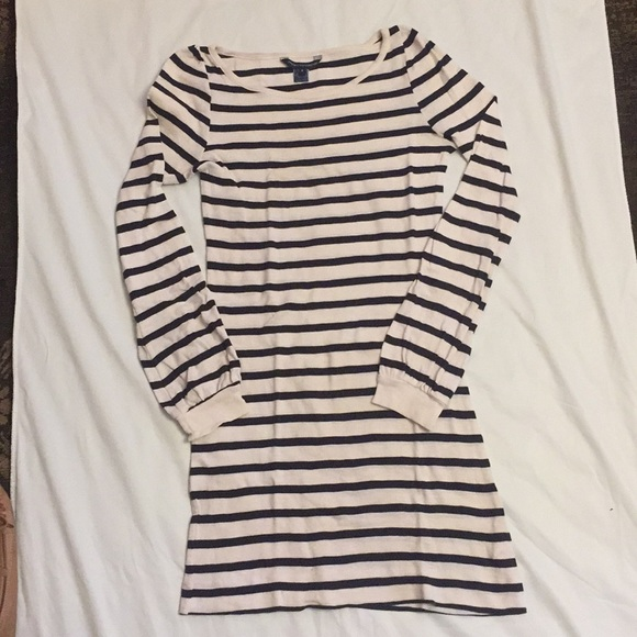 French Connection Dresses & Skirts - French Connection cotton striped dress sz 4